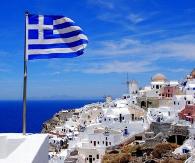 Греция Санторини