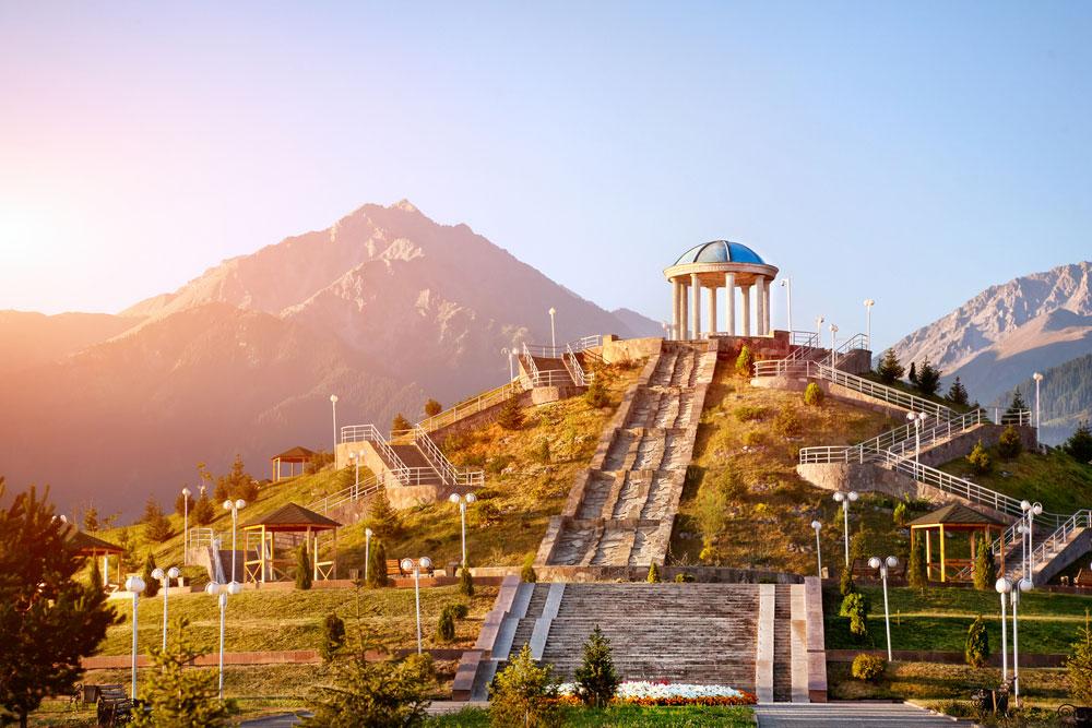 Казахстан без загранпаспорта