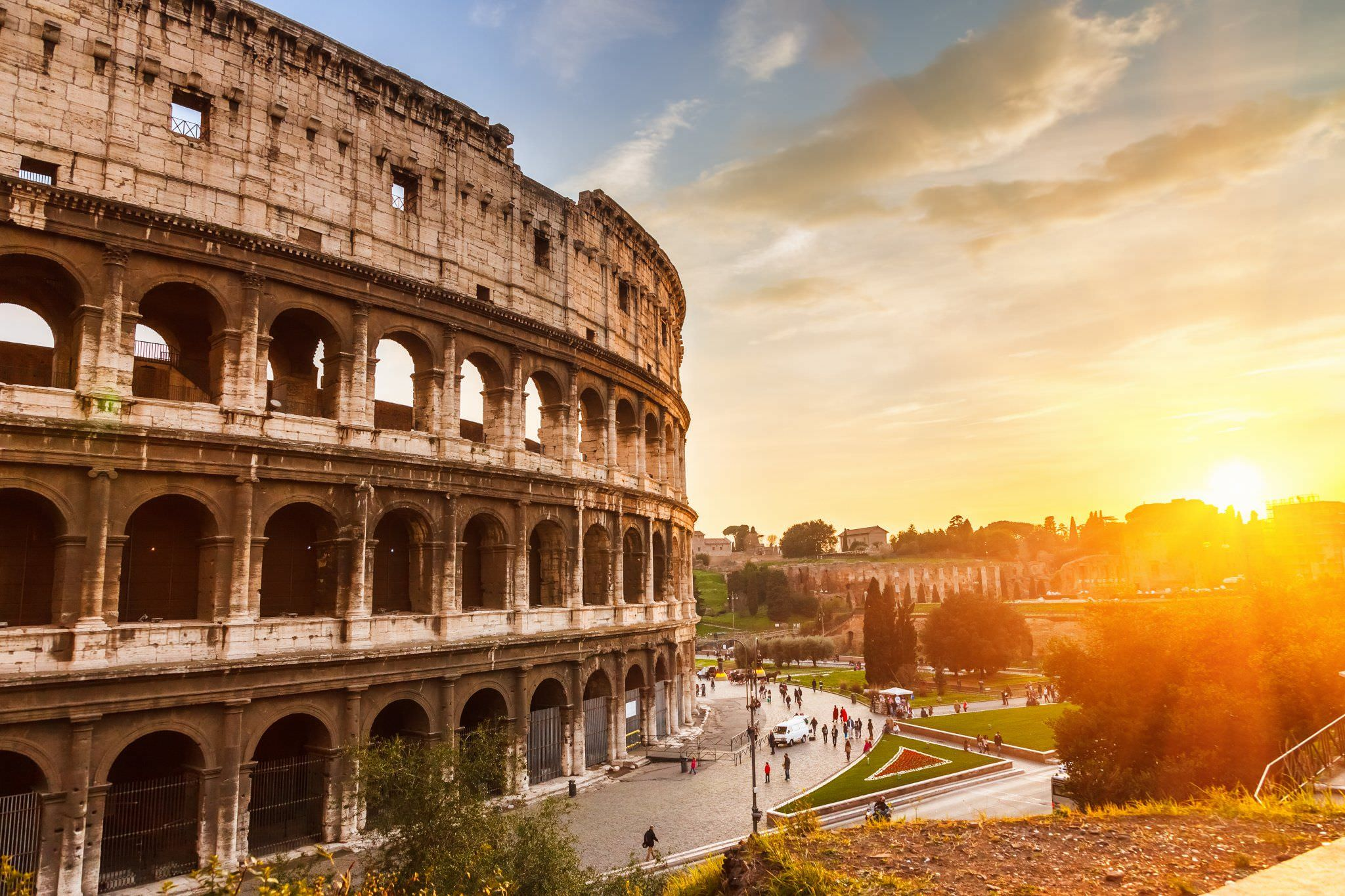 Италия Рим автопрокат авиабилеты