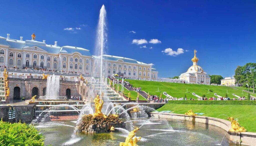 Петергоф фонтан музей