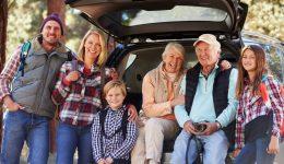 путешествия семьей