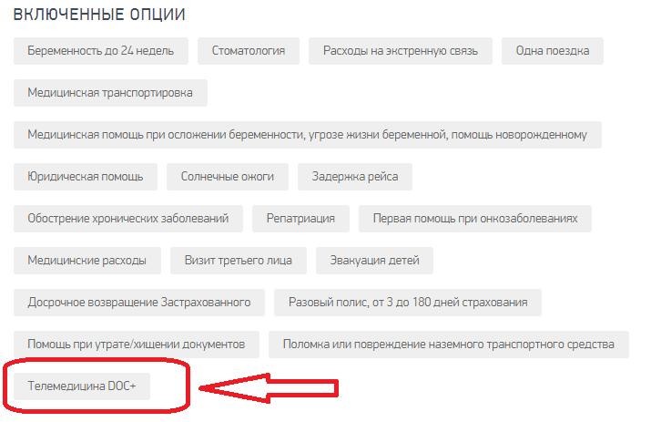 Инсторе Тревел телемедицина