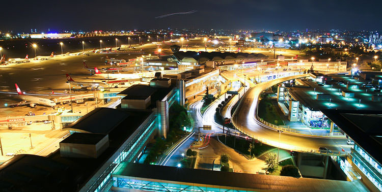Аэропорт Стамбул Ататюрк