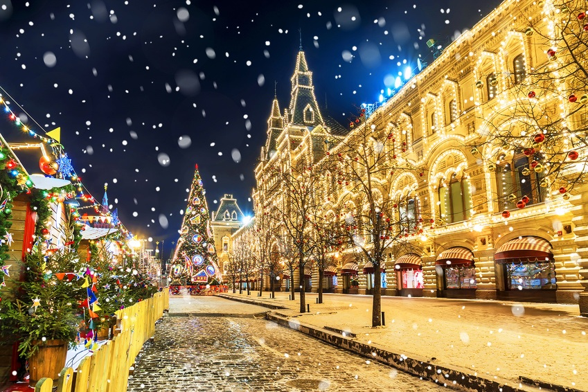 Новый год 2020 в России: ТОП лучших мест | TRAVEL4FREE.RU