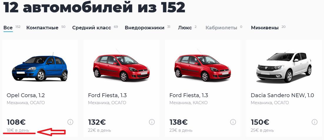 Автопрокат в Болгарии