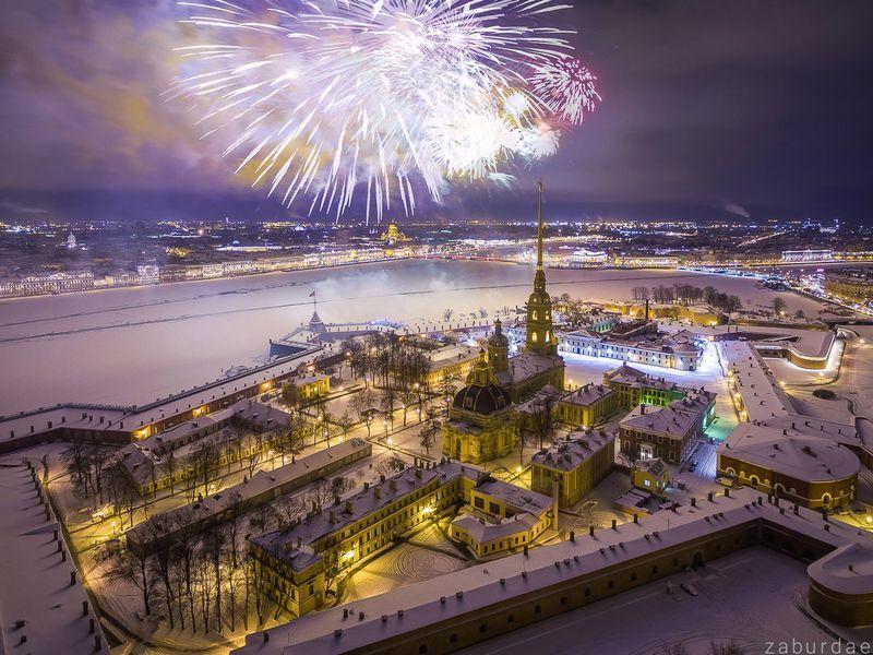 Петербург Новый год