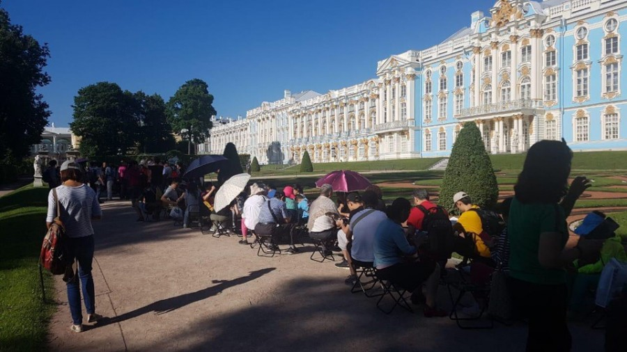 Екатерининский дворец очередь