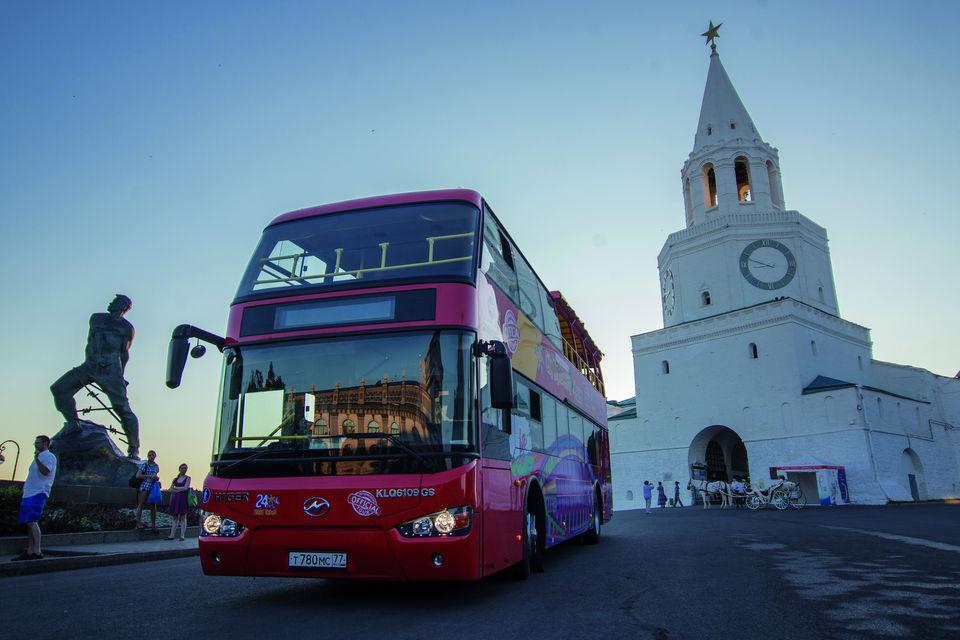 Казань двухэтажный автобус