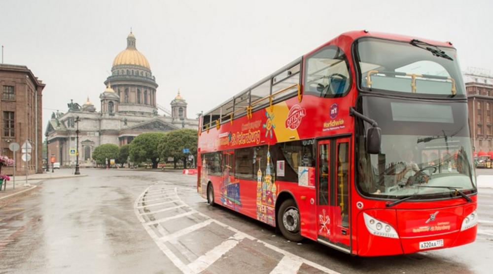 Петербург туристический автобус
