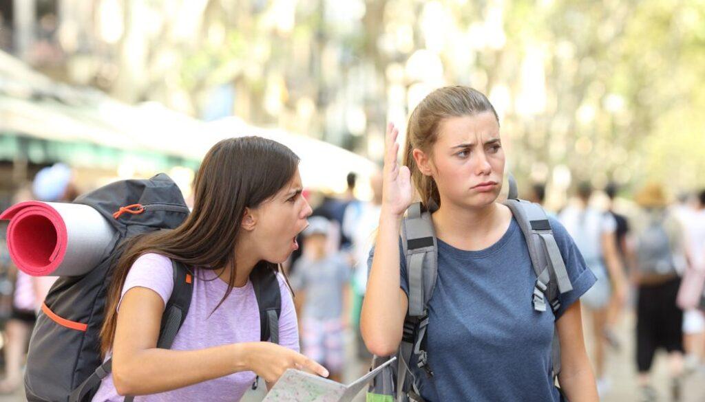 Недовольные туристы