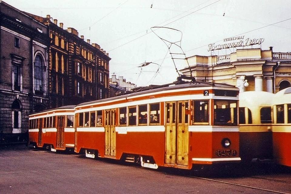 Ретротрамвай Санкт-Петербург