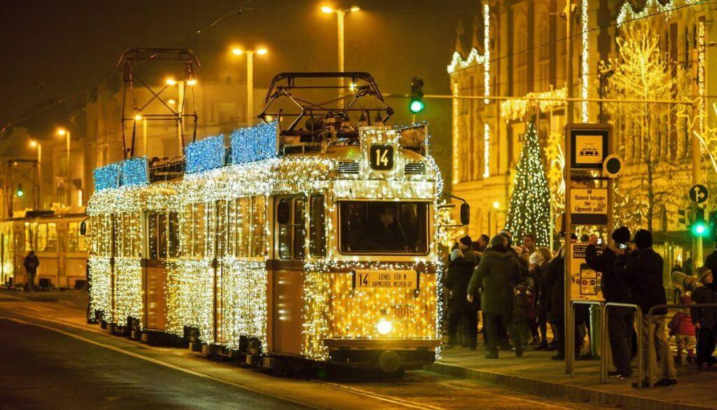 Будапешт Рождество