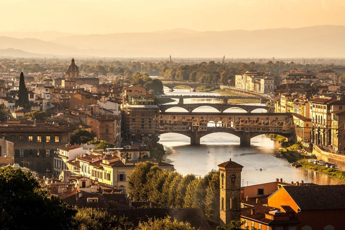 Флоренция мосты