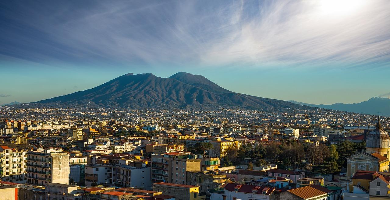 Неаполь Везувий