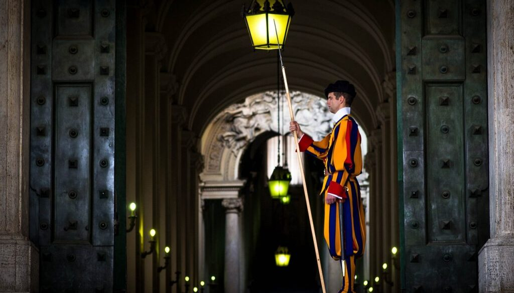 Ватикан Швейцарская гвардия