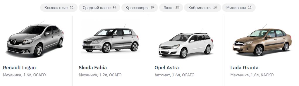 Автопрокат Крым