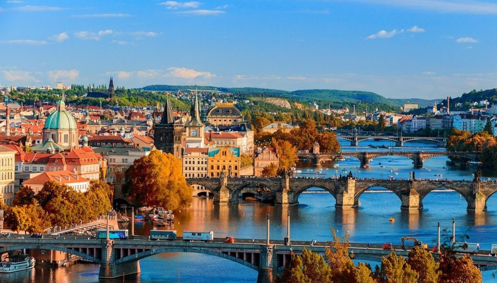 Прага мосты