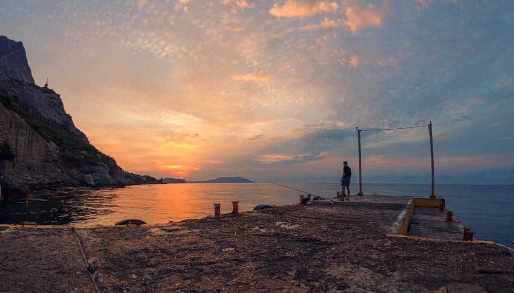 Крым закат