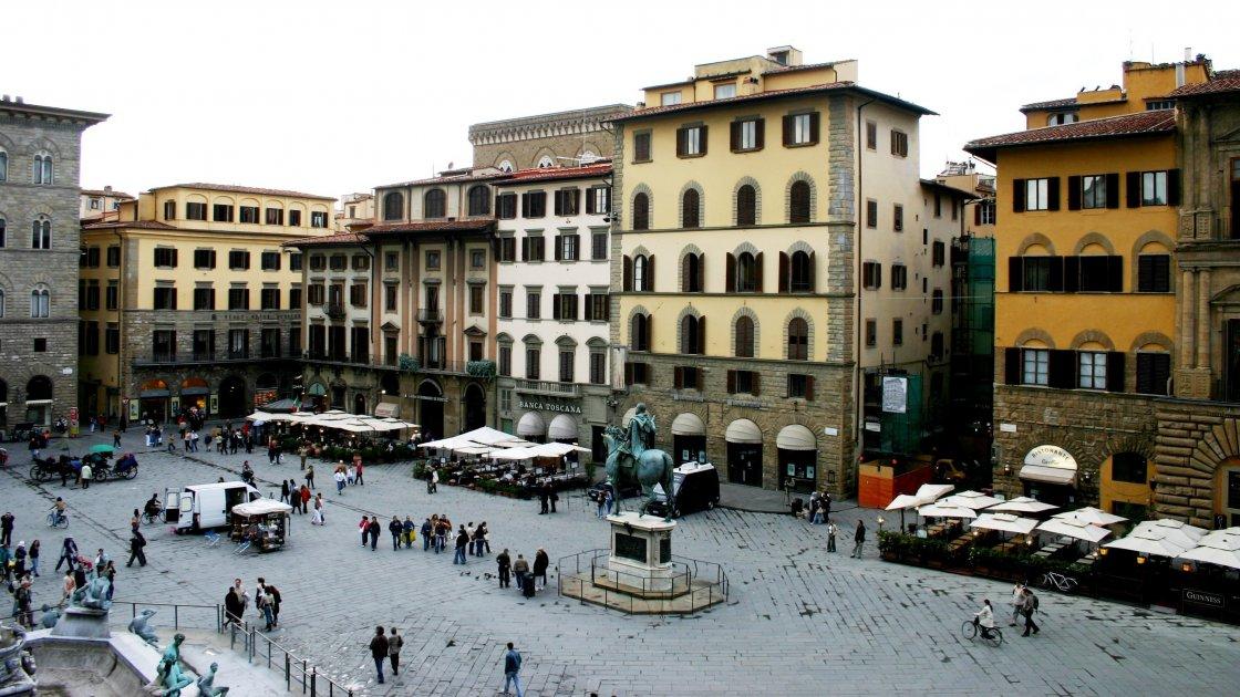 Флоренция площадь Синьории
