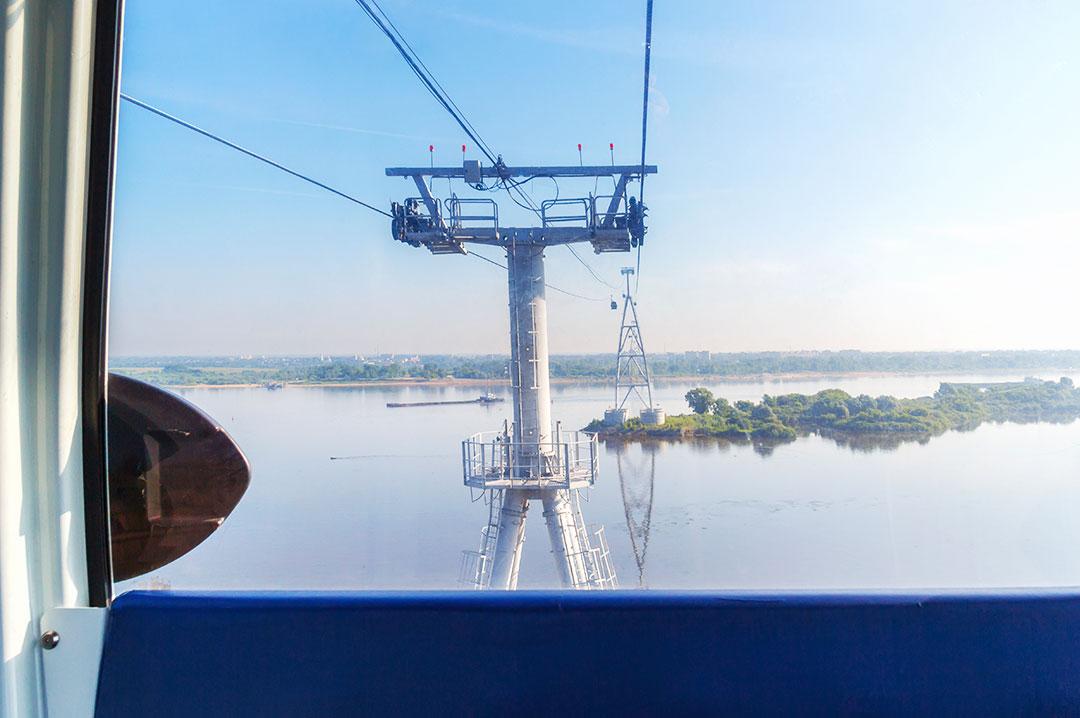 Нижний Новгород канатная дорога