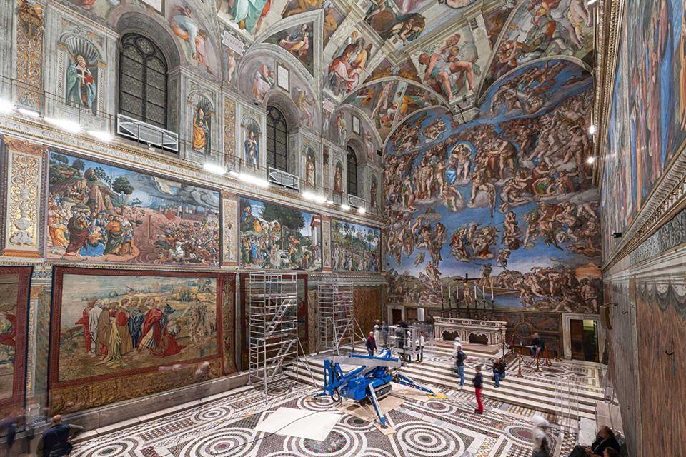 Ватикан Сикстинская капелла