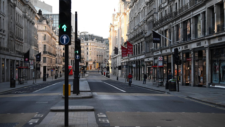 Лондон коронавирус