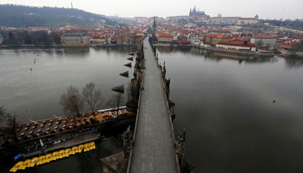 Прага Коронавирус