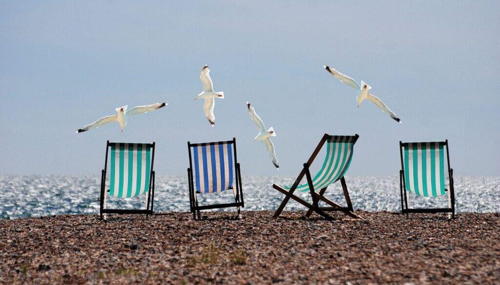 лето отдых пляж