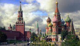 Москва Спасская башня
