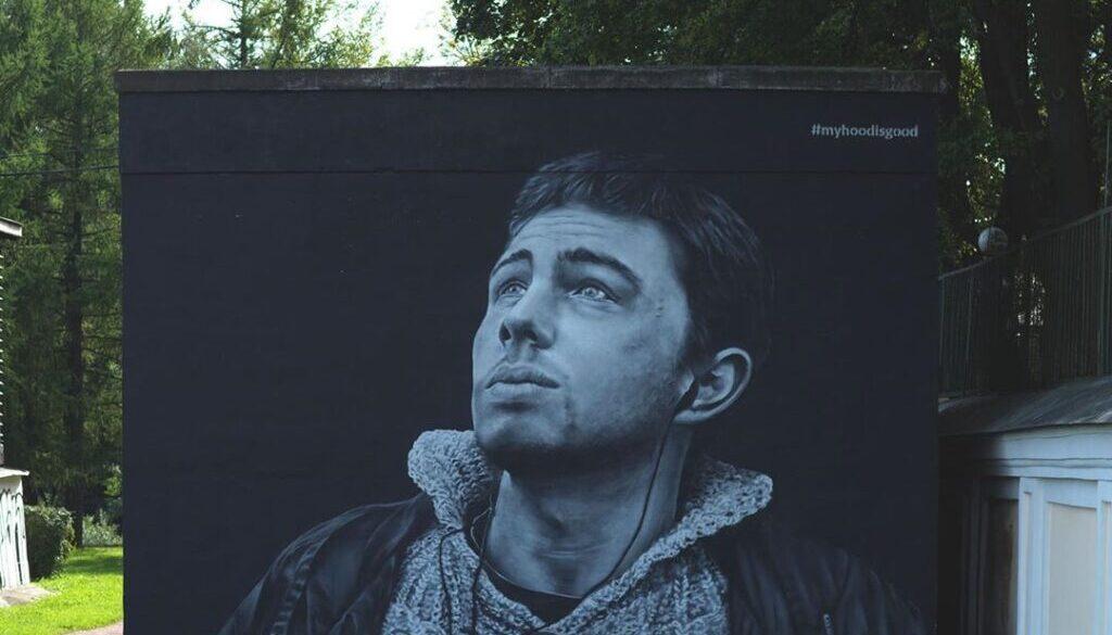 Петербург граффити