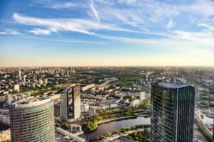 Москва Сити Башня Око