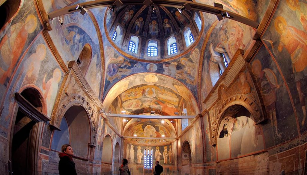 Церковь Хора Стамбул