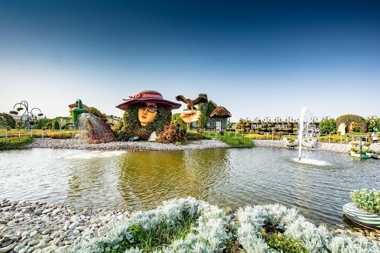 Дубай чудо-сад