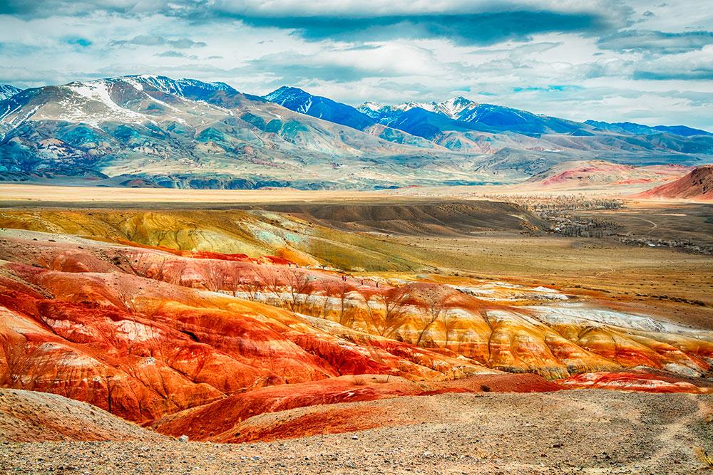 Алтай марсианские пейзажи