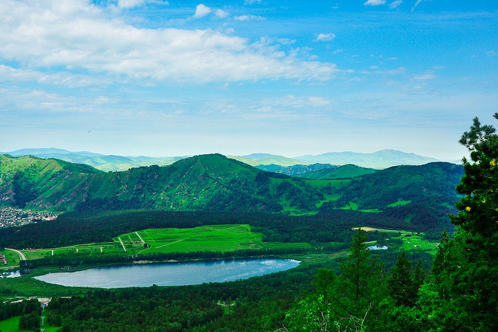 Алтай Манжерокское озеро