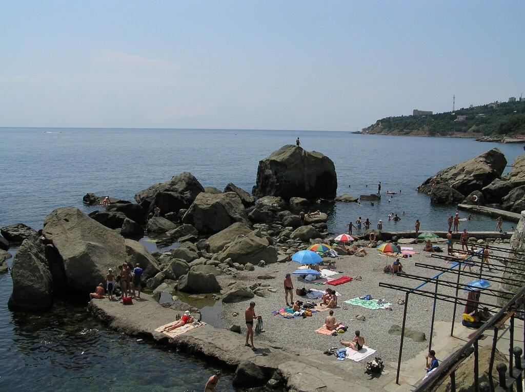 Алупка Детский пляж