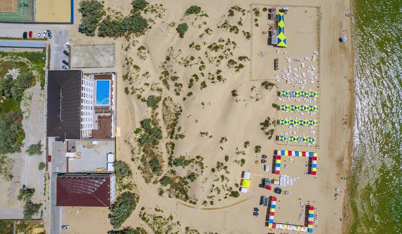 Анапа пляж отеля La Melia