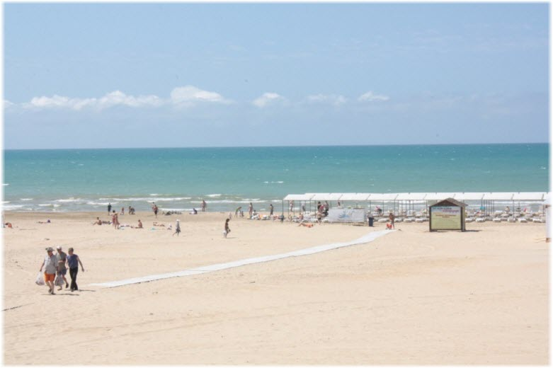 Анапа Белый пляж