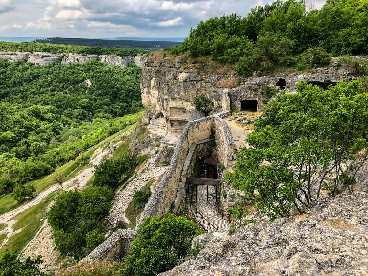 Бахчисарай пещерный город Чуфут Кале