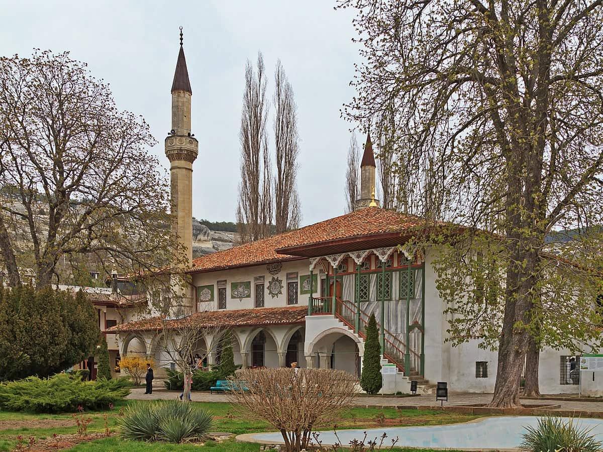 Ханская мечеть в Бахчисарае