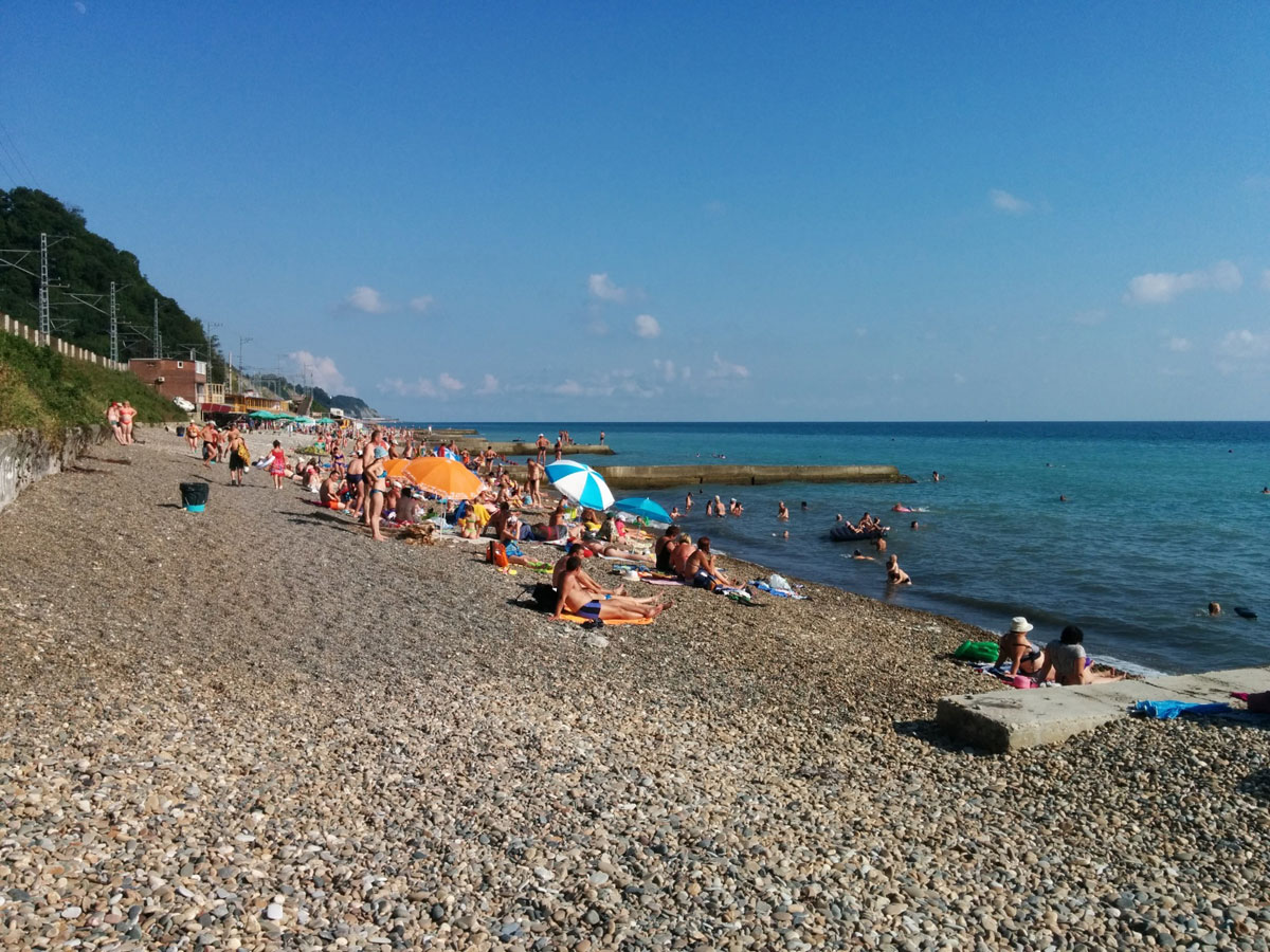 Дедеркой пляж