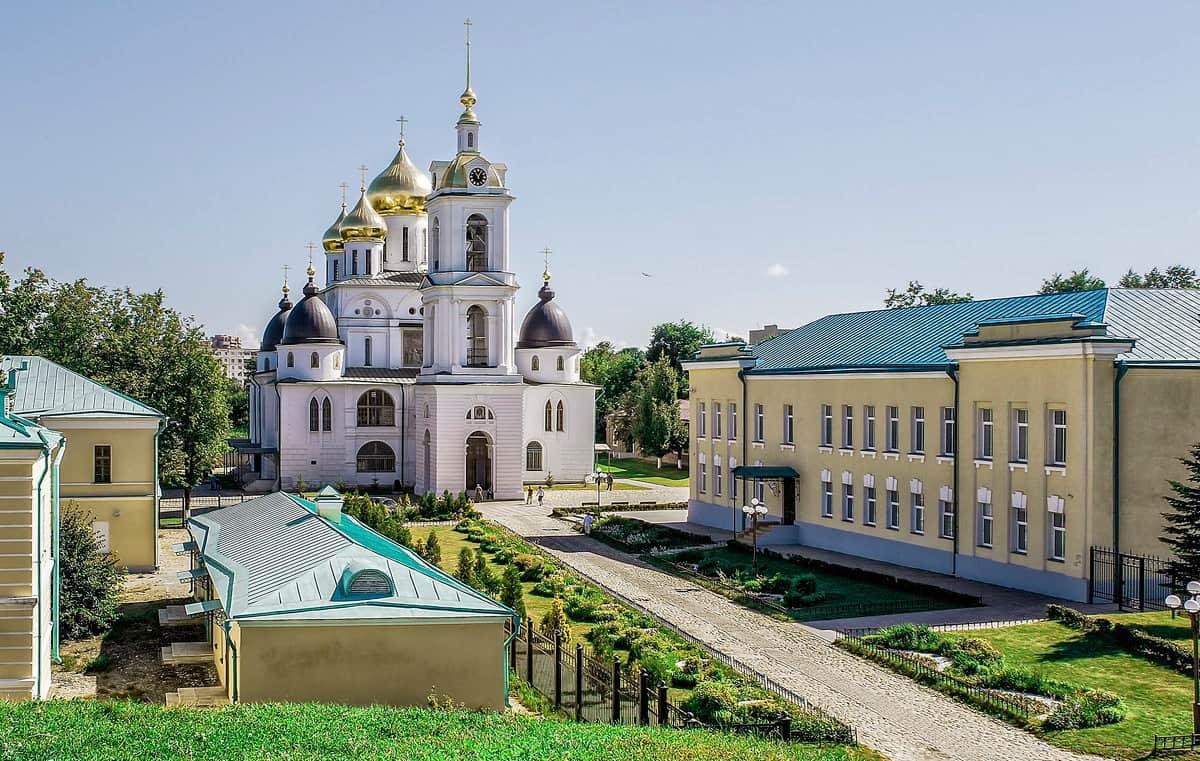 Кремль в Дмитрове