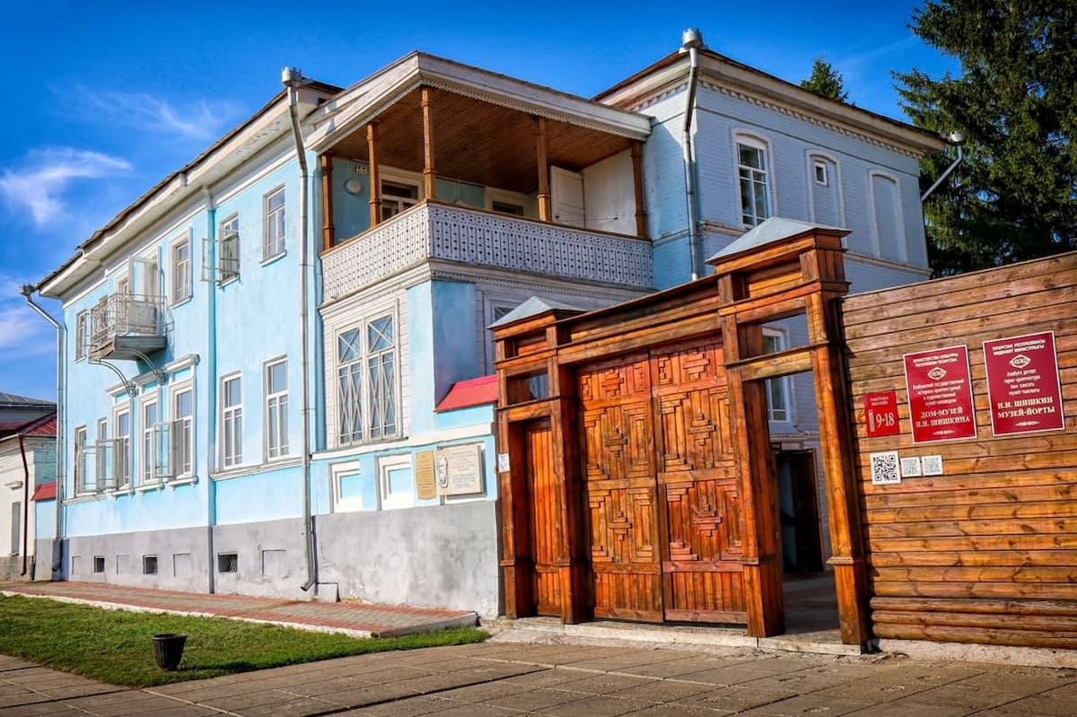 Дом-музей Ивана Шишкина в Елабуге