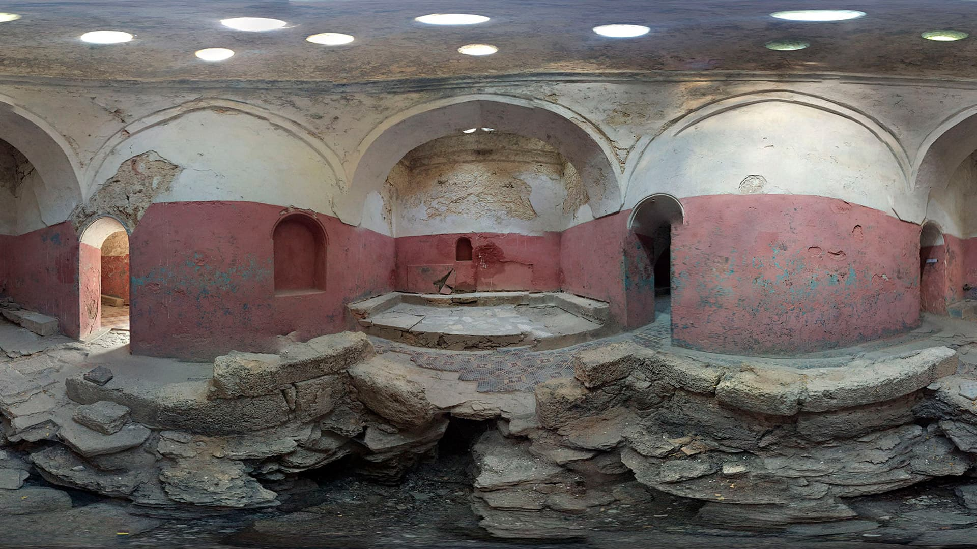 Старые турецкие бани евпатория