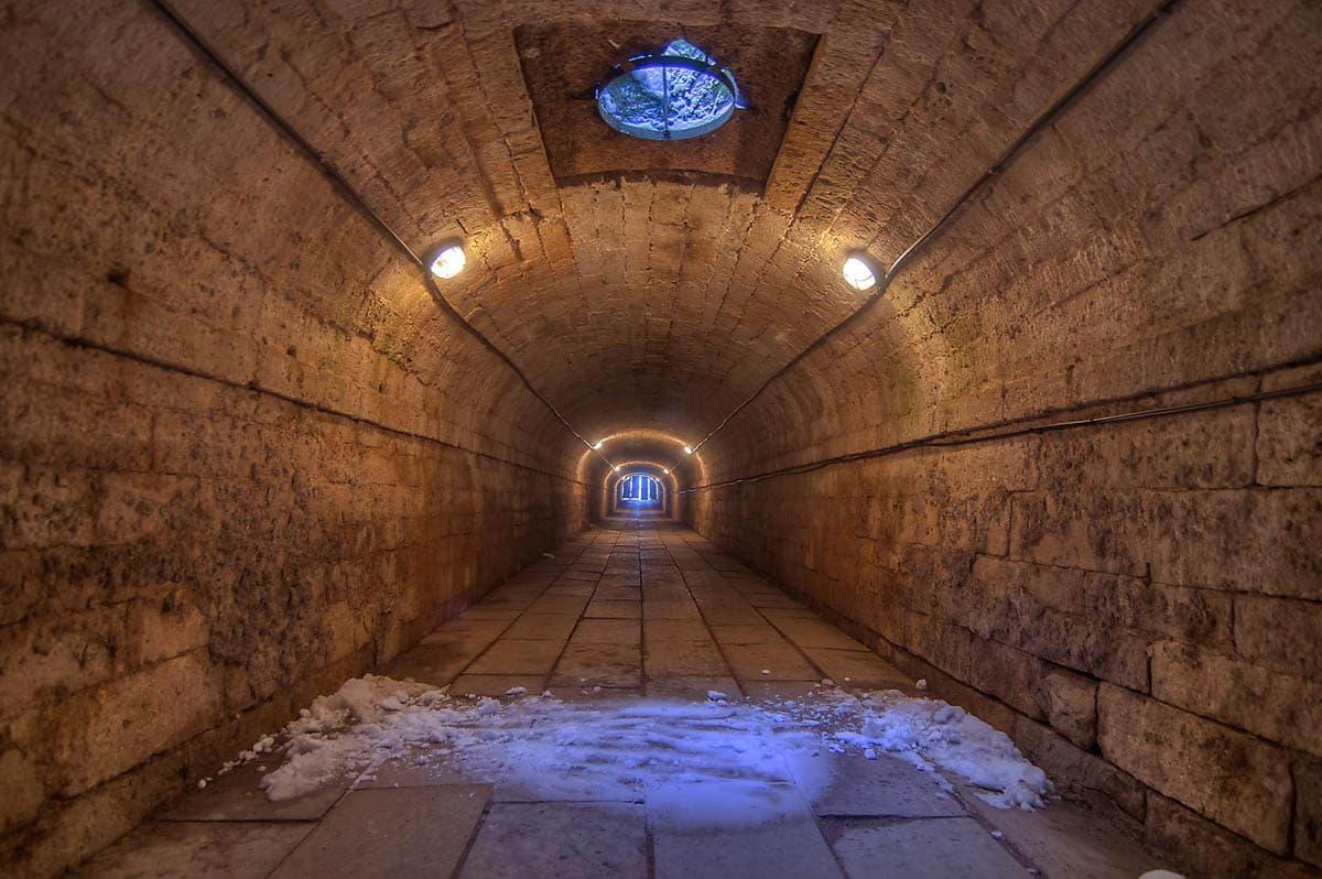 подземный ход гатчина