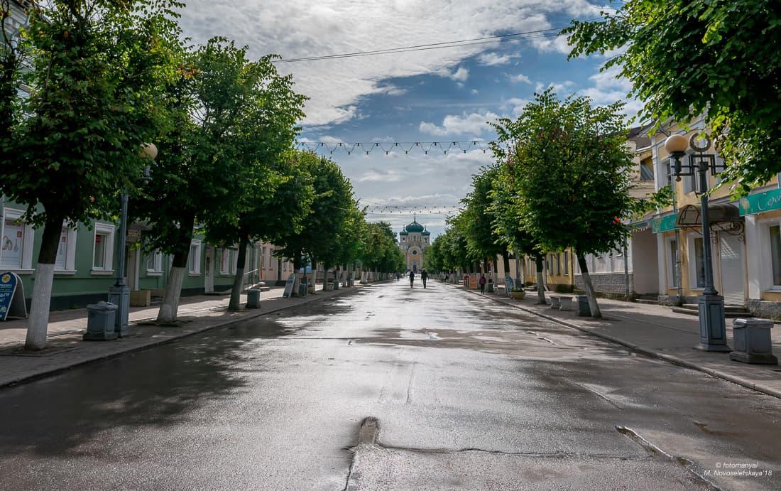 Соборная улица в Гатчине