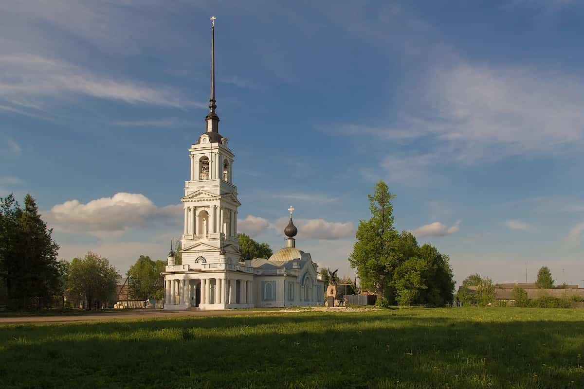 Вознесенская церковь в Калязине