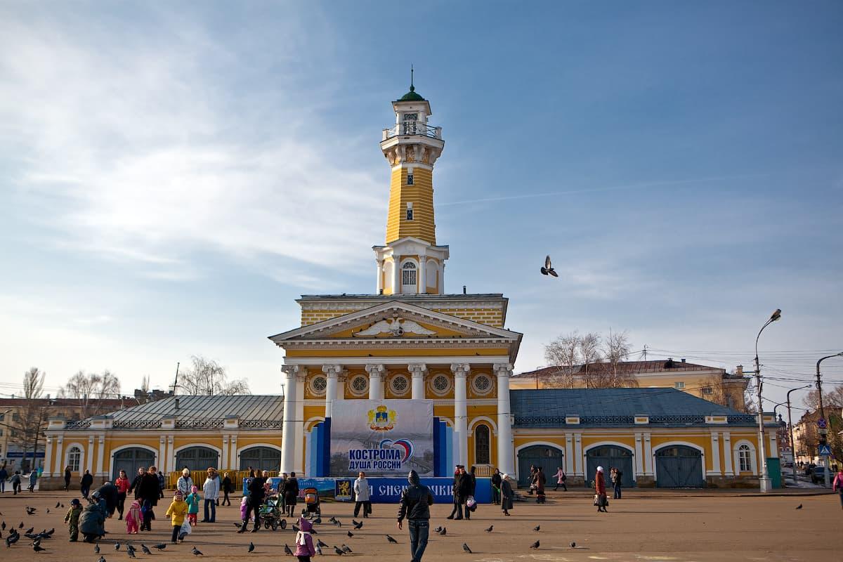Пожарная каланча в Костроме