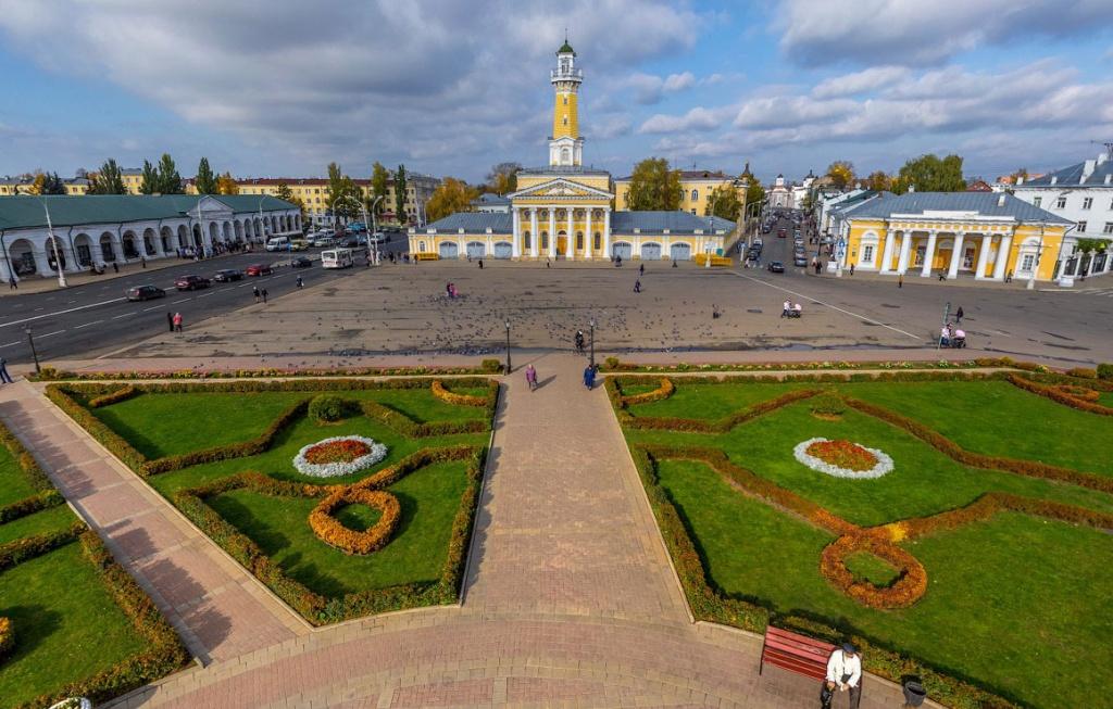 Кострома Сусанинская площадь
