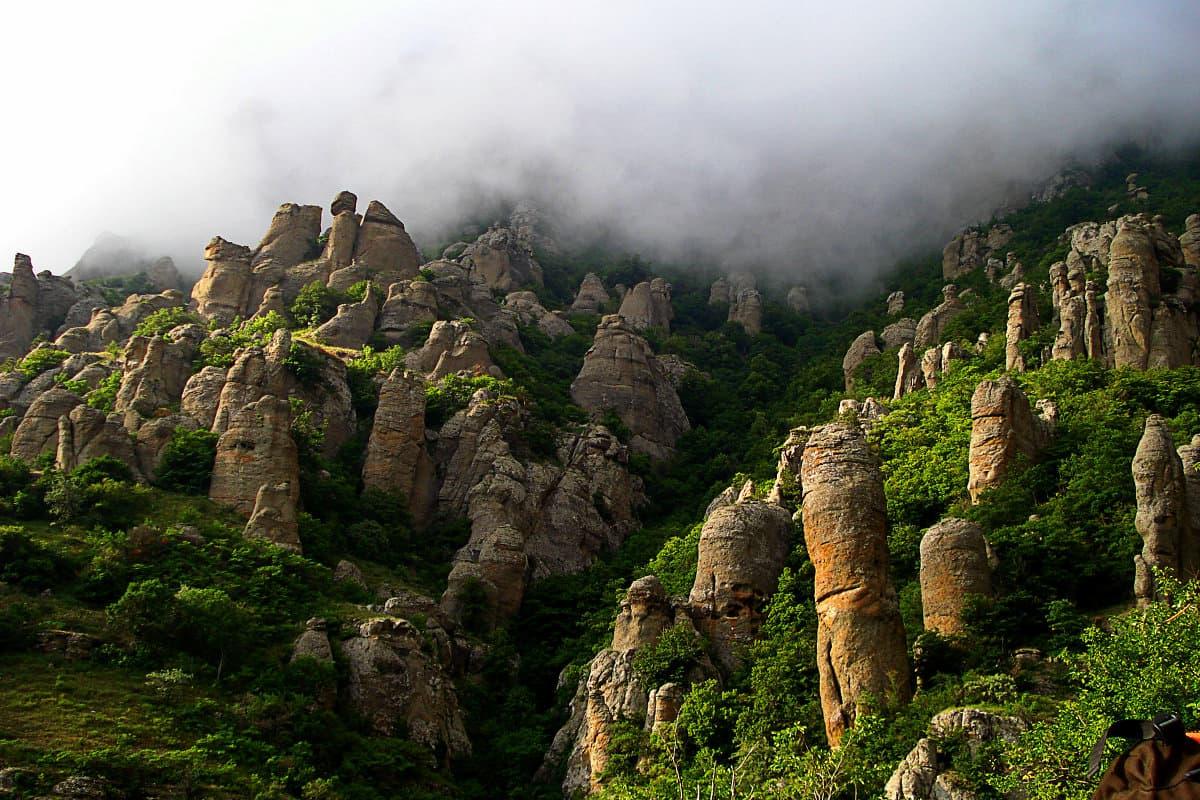 Крым Долина привидений